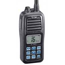 Marine handheld  m23  INT/Basel channels, ATIS, 5W, Floats, IPX7with BP-266, BC199SE, FA-SC58V, MB-124
