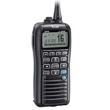 Marine DSC handheld INT/Basel channels, ATIS, 5W, Floats, IPX7with BP-275, BC-204, BC-147SE, FA-SC59V, MB-109