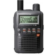 Icom IC-R6 Receiver handheld 0.1-1309.995 MHz (FM/WFM/AM), 1250 memory channelwith BC-196SD, 2 * Ni-MH cell