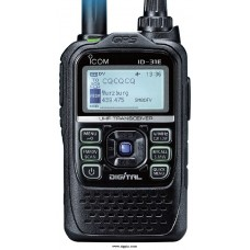Icom ID-31E UHF portofoon  D-Star concept. Built-in GPS. CTCSS and DTCS