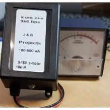 J&B project  BLACK BOX gebruik je eigen s-meter voor Rx en Tx.  Speciaal voor de  ICOM-7300 /IC-9700/ IC-7100/ic-910H/ic-R8600(geen Tx)