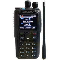Anytone AT-D878UV Digital DMR Dual-band portofoon, incl. code plug van 1500 kan.op VOORRAAD!