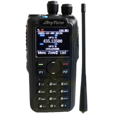 Anytone AT-D878UV Digital DMR Dual-band portofoon, incl. code plug van 1500 kan.