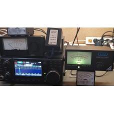 J&B  s-meter voor o.a ic-7300/9700/7100/r8600. (dit betrefd de kleine meter)