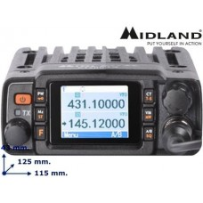 Midland CT2000 dualband 2/70 mobile Transceiver. NIEUW!!!!!!! (geen occ.)