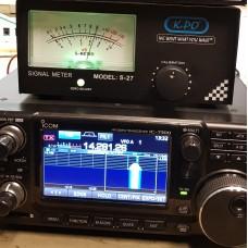 Icom ic-7300 S-meter Analoog voor o.a de IC-7300/IC-7100/ic-910/ic-706/ic-r8600 (meerdere modellen mogelijk) J&B Project
